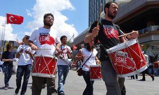 Taksim musicians